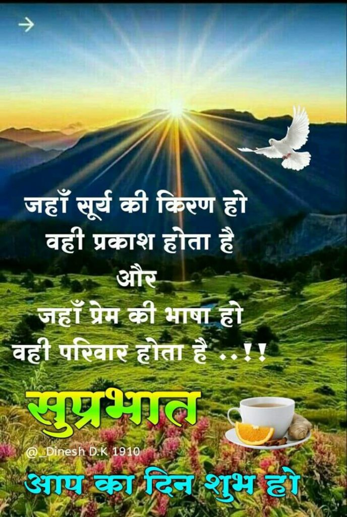 Top 50+ Good Morning Images In Hindi   New Image Quotes