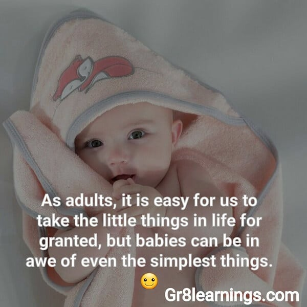 45 Top Cute Baby With Quotes Adorable Baby Quotes