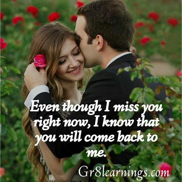 message of miss you