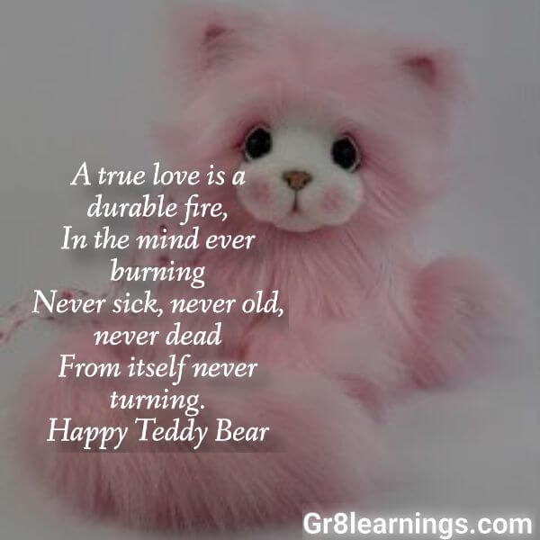 teddy day images with name