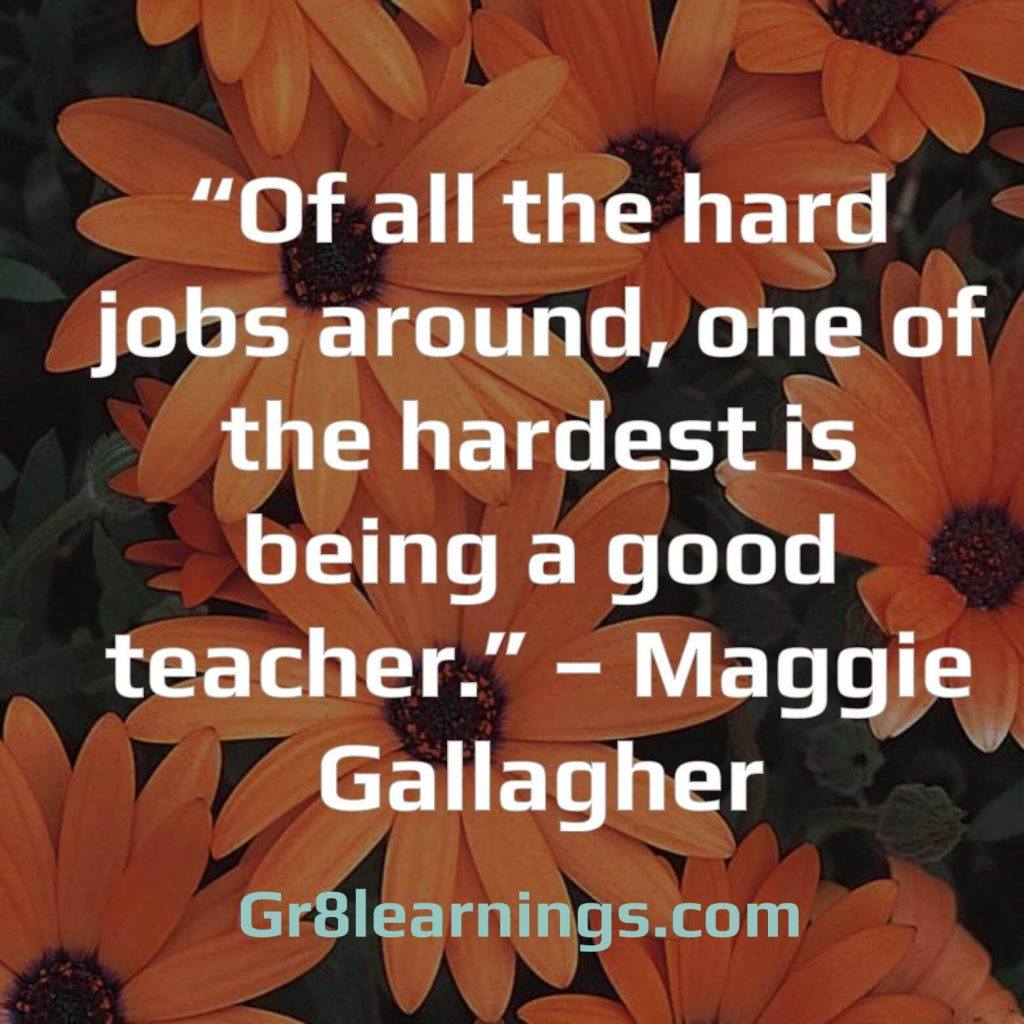 Quotes on Teacher Day