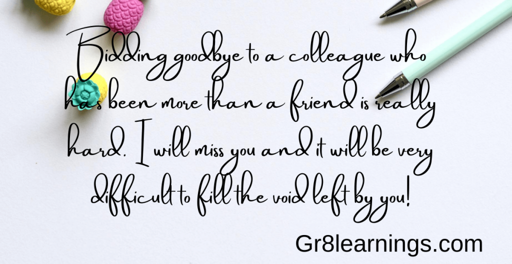 Farewell quotes for Friends