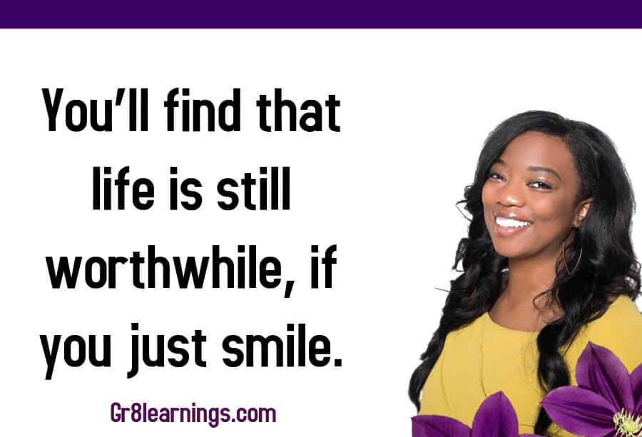 Quotes on smile