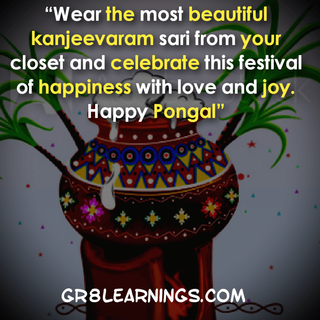 Pongal Quotes